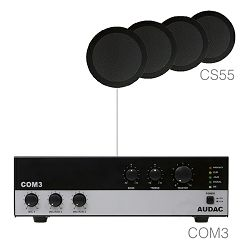 Audio sistem Audac Agro5.4 (Pojačalo COM3, zvučnici CS55)