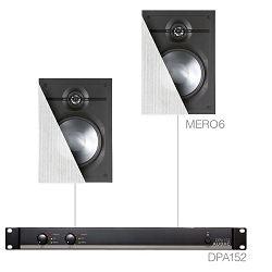 Audio sistem Audac Cerra6.2 (Pojačalo DPA120, zvučnici MERO6)