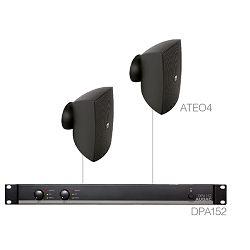 Audio sistem Audac Festa4.2 (Pojačalo DPA152, zvučnici ATEO4)