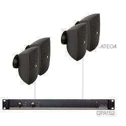 Audio sistem Audac festa4.4 (Pojačalo DPA152, zvučnici ATEO4)