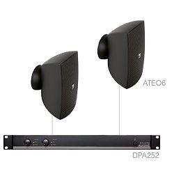 Audio sistem Audac festa6.2 (Pojačalo DPA252, zvučnici ATEO6)