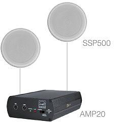 Audio sistem Audac Purra5.1 (Pojačalo AMP20, zvučnici SSP500)