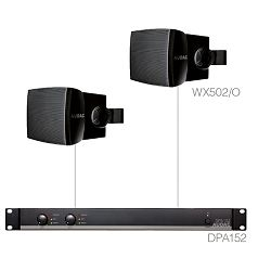 Audio sistem Audac Purra5.2 (Pojačalo DPA152, zvučnici WX502/O)