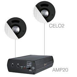 Audio sistem Audac Senso2.2 (Pojačalo AMP20, zvučnici CELO2)