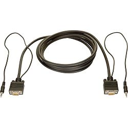 Bachmann VGA i Audio kabl; 1 000 cm