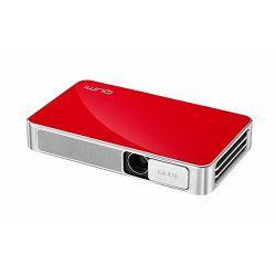 Prenosni projektor Vivitek Qumi Q3-RD crveni, DLP, HD720p (1280 x 720) rezolucija, 500 ANSI lumena