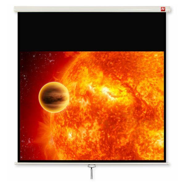Zidno mehaničko platno Avtek Video 200, 200x200cm, format 4:3