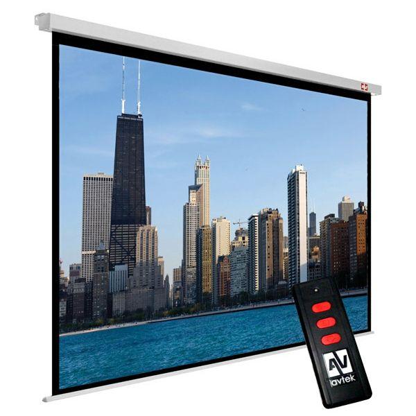 Zidno električno platno Avtek Video Electric 300, 300x227.5 cm, format 4:3