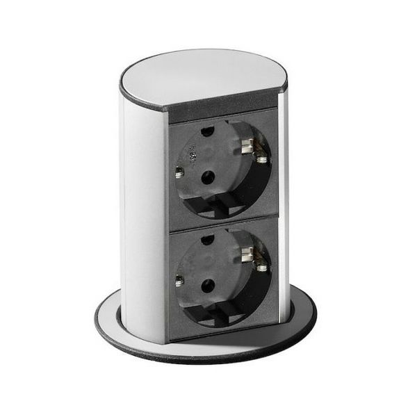 Stona priključnica ELEVATOR; 1x strujna utičnica, 1x USB