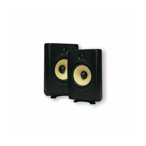 Zvučnici Nuvo AP26OB, spoljni, vodootporni, 50W, 8 Ohm, crni, par